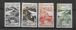 Maroc Poste Aérienne 1949 Oeuvres De Solidarité,   Cat Yt N° 70 à 73        N** MNH - Maroc (1891-1956)