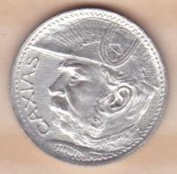 Brésil 2000 Réis 1935, CAXIAS ,  KM# 535 , En Argent ,SUP/XF - Brésil