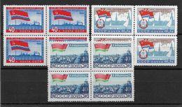 Russia 1960 Baltic Soviet Republics Blocks,Sc # 2352-54,XF Superb MNH**OG (OR-8) - 1923-1991 USSR