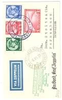 Reich Letter Zeppelin 1933 To Brazil - Airmail