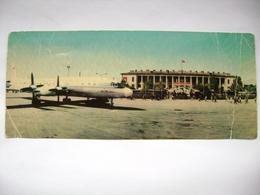 Uzbekistan (Soviet Union): TASHKENT - Airport - Airplane Iluyshin IL-18 - Posted 1977 - Aérodromes