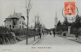 Avize (Marne) - Avenue De La Gare - Edition Laroche - Carte Vernie - France