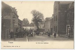 Fosse (Fosses-la-Ville) La Foire Aux Bestiaux  1906 - Fosses-la-Ville