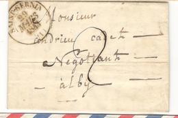 11391 - SAINT SERNIN Type  13 - 1801-1848: Precursori XIX