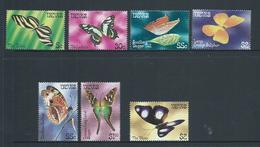 Nevis 1982 - 1983 Butterflies Part Set 6 MNH - St.Kitts And Nevis ( 1983-...)