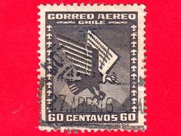 CILE - Usato - 1935 - Posta Aerea - Condor - 60 - Cile