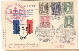 11397 - COMITE DE  LIBERATION SAUMUR - Marcophilie (Lettres)