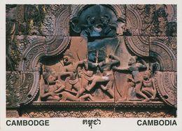 00710 - CAMBODGE - SIEM REAP - BANTEAY SREI SCULPTURE - Cambodia