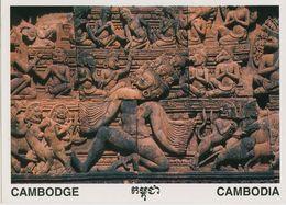00714 - CAMBODGE -  SIEM REAP - BANTEAY SREI SCULPTURE - Cambodia