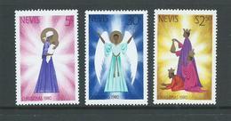 Nevis 1980 Christmas Set 3 MNH - St.Kitts And Nevis ( 1983-...)