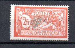 L France N° 145 ** Côte 150 Euros (1 Dent Un Peu Courte Comme Visible Sur Le Scan, Mais Très Beau). A Saisir !!! - 1900-27 Merson