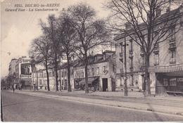 BAD-  BOURG LA REINE  EN HAUTS DE SEINE GRAND' RUE   LA GENDARMERIE - Bourg La Reine