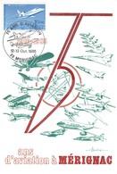 75 Ans D'Aviation à Mérignac - Philatélie Premier Jour - Merignac