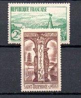 L France N° 301 + 302 ** Côte 175 Euros . A Saisir !!! - France