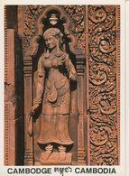 00741 - CAMBODGE - SIEM REAP - BANTEAY SREI FEMALE DIVINITY - Cambodia