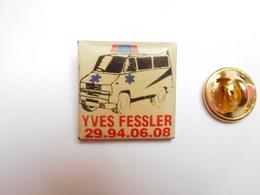 Beau Pin's , Médical , Ambulances Yves Fessler , Fourgon Peugeot , Neufchâteau , Vosges - Medical