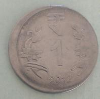 India...error Coin..2012.. Kolkata Mint - Inde