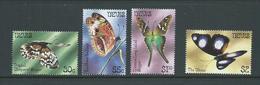 Nevis 1983 Butterflies Series II Set 4 MNH - St.Christopher-Nevis-Anguilla (...-1980)