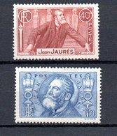 L France N° 318 + 319 ** Côte 53.50 Euros . A Saisir !!! - France