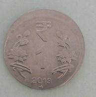 India..2013..error  Hyderabad Mint.. Circulated Coin - Inde