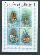 Nevis 1983 Corals Miniature Sheet MNH - St.Kitts And Nevis ( 1983-...)