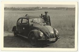 Volkswagen VW  Germany Polizei 1962 , Police , Polizia , Politi , полиция , Inscription On Back Side - Turismo