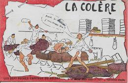 La Colère Les Sept Péchés Capitaux Du Soldat-MO - Umoristiche