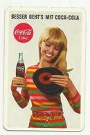 Pocket  Advertising Coca Cola Calendar 1969 - Calendriers