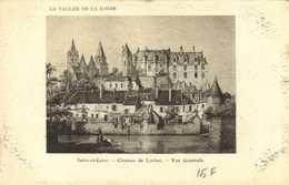 Illustrateur Indre Et Loire Chateau De Loches Vue Generale RV - Loches