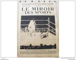 1923 CHAMPIONNAT DU MONDE DE BOXE COUPE GOURDON BENNETT A BRUXELLES NOUVEAU STADE DE COLOMBES MEETING AUTOMOBILE DU MANS - Journaux - Quotidiens