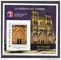 France BF  7 FFAP 86 ème Congrès D'Amiens 2013 Neufs ** LUXE MNH Sin Charnela - FFAP