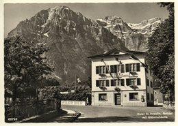 NETSTAL GL Hotel St. Fridolin Frau C. Rauber ....wiler Bier Am Eingang Ins Klöntal - GL Glarus