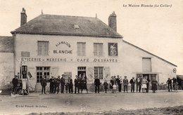Cpa 44 LE CELLIER    Cafe Epicerie  LA MAISON BLANCHE - Le Cellier