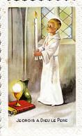 Thematiques Souvenir De Ma Communion Solennelle Eglise St Sulpice Fougeres 1970 Je Crois A Dieu Le Pere - Communion