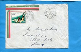 MARCOPHILIE-BENIN -lettre >Françe-cad -1981 Cotonou Gbégamey-stamp  N°531 Chien -dogs - Bénin – Dahomey (1960-...)