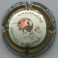 CAPSULE-CHAMPAGNE FURDYNA N°44b N°44o Contour Marron Métallisé - Champagne