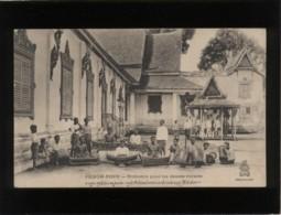 Cambodge Pnom-penh Orchestre Pour Les Danses Royales  édit. Dieulefils - Cambodia