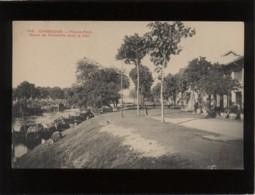 Cambodge Pnom-penh Canal De Verneville Dans La Cité  édit. Dieulefils N° 1918 - Cambodia