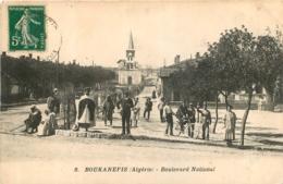 BOUKANEFIS BOULEVARD NATIONAL 1911 - Algérie
