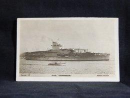 Warship H.M.S. Courageous__(22505) - Guerra