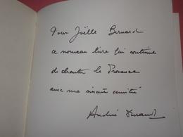 Ecrit à L'ombre De L'olivier Par Andrée Durand, Edition Originale Numérotée, LIVRE DÉDICACÉ PAR SON AUTEUR - Autographes