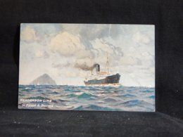 Steamer Henderson Line To Egypt & Burma__(22691) - Paquebote