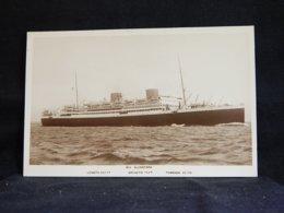 Steamer M.V. Alcantara__(21657) - Passagiersschepen