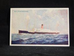 Steamer M.V. Staffordshire__(22725) - Dampfer