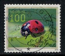 Suisse // Schweiz // Switzerland // 2010-2019 // 2015 Coccinelle Oblitéré No.1565 - Switzerland