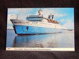 Steamer Prinz Gamlet Harwich Hamburg__(22445) - Paquebots