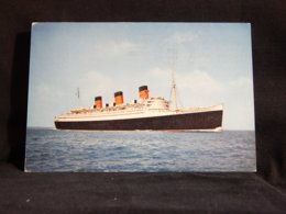 Steamer R.M.S. Queen Mary -67__(22214) - Dampfer