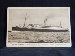 Steamer R.M.S.P. Andes Triple-Screw__(21636) - Paquebote