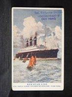 Steamer Red Star Line Belgenland__(21337) - Paquebots