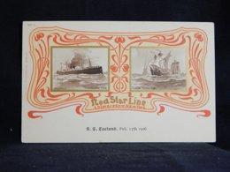 Steamer Red Star Line S.S. Zeeland__(21347) - Paquebote